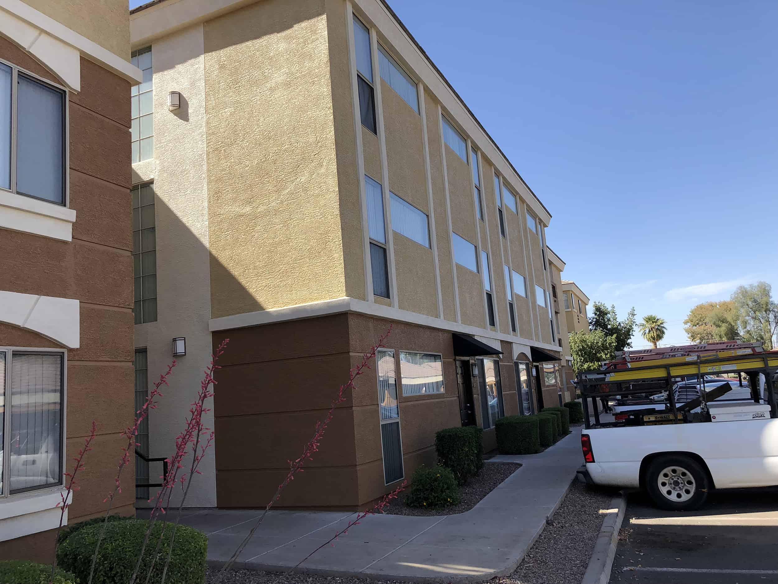 freshly painted monterra apartments