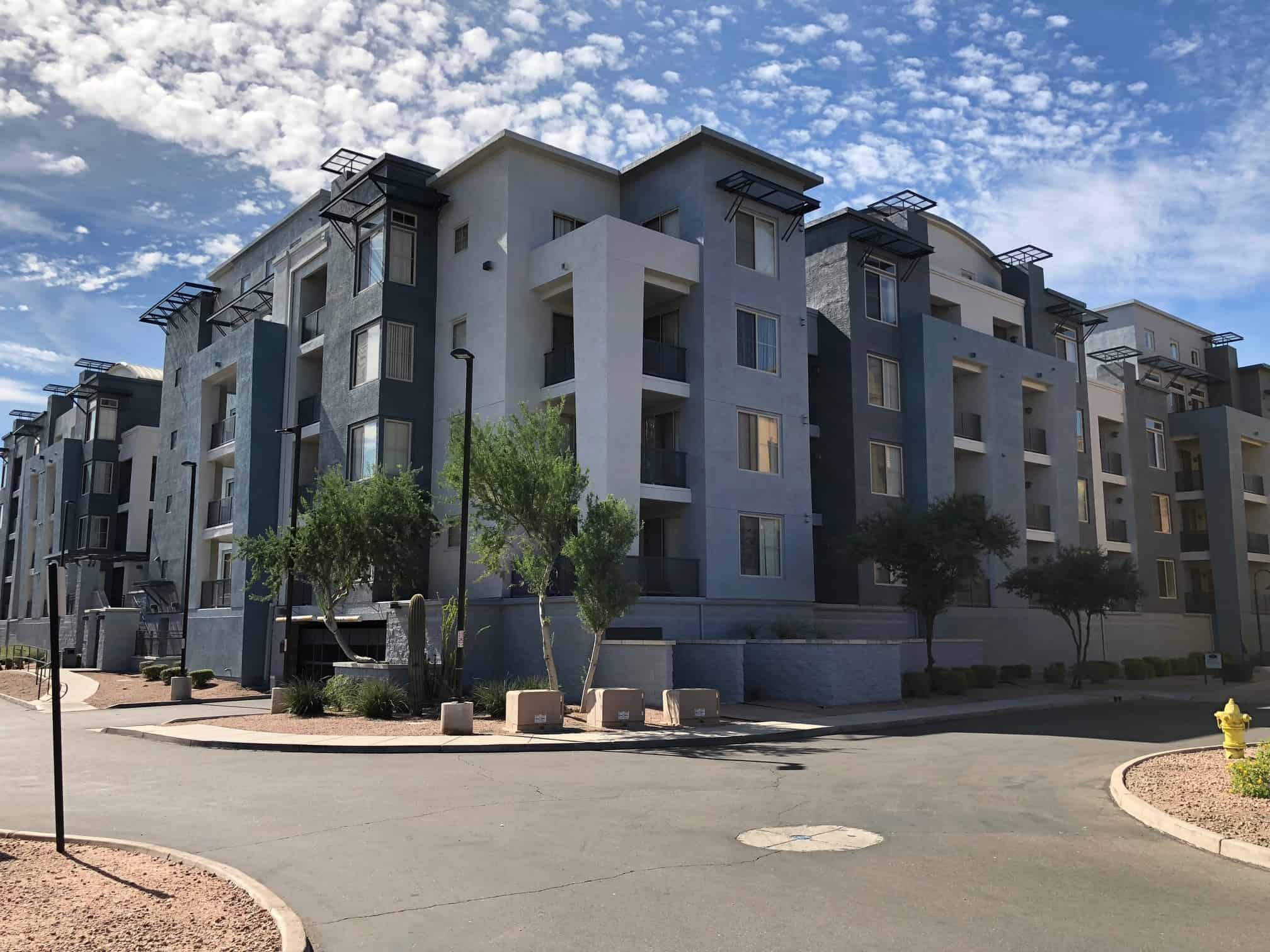 Newly painted lofts in Tempe