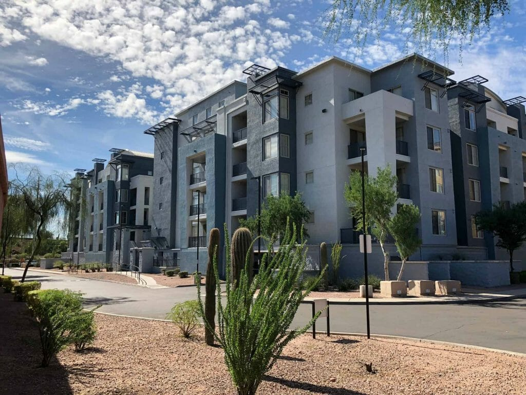 Lofts in rio salado newly painted